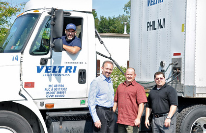 Veltri will effectively and efficiently manage the hauling of your truckload.